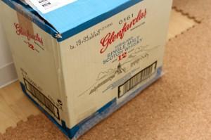 高級ウィスキーの箱が