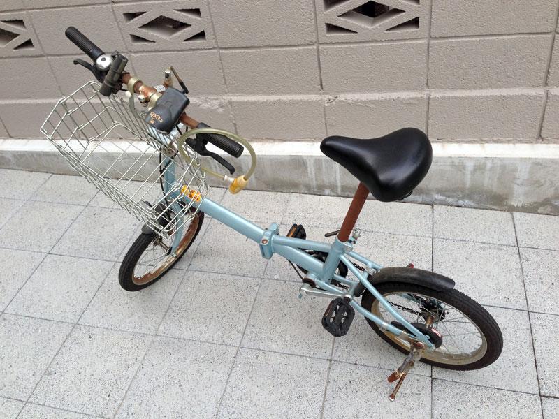 自転車の 古い自転車 : 古い折りたたみ自転車の話 ...