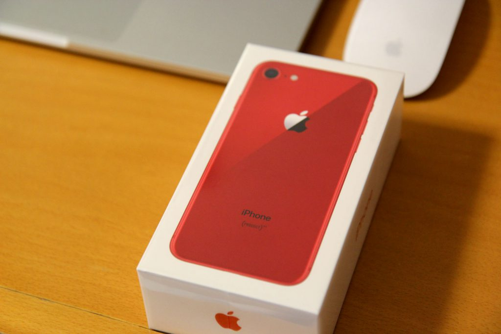 iPhone8_red
