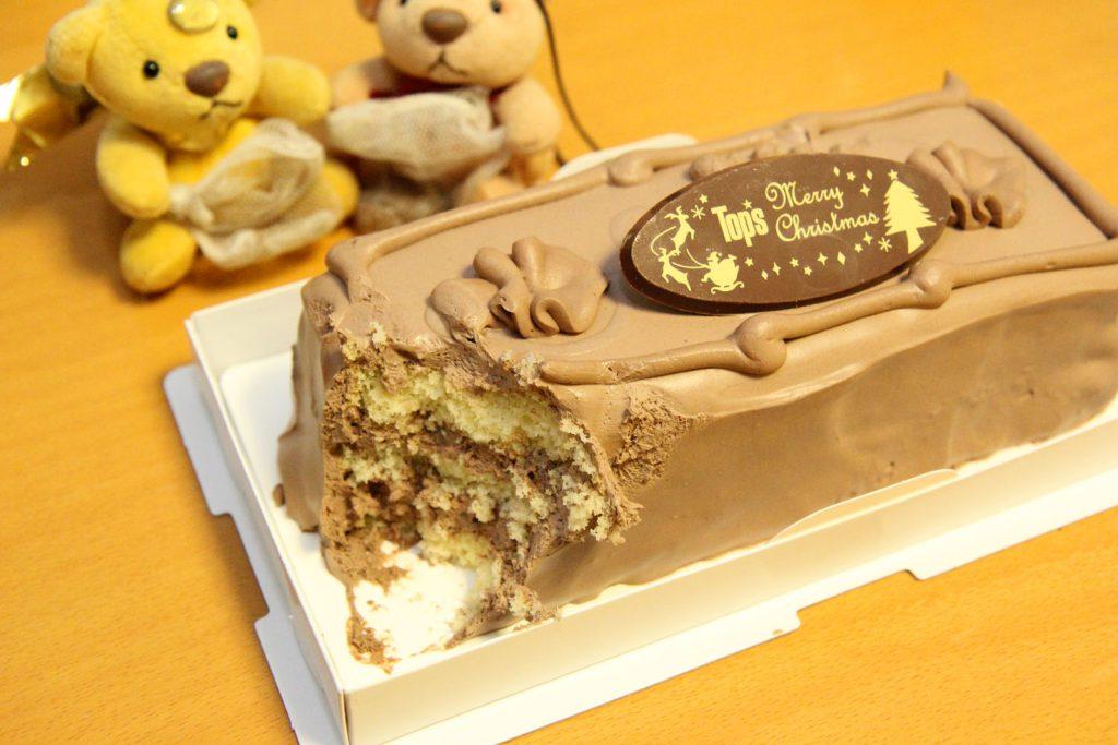 トップスのチョコレートケーキを独り占め