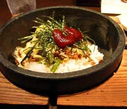 牛角食堂の石焼ビビンバ