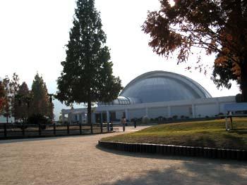 カブトガニ博物館ドーム