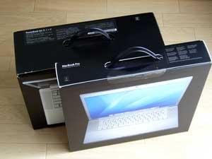 MacBook Pro外箱