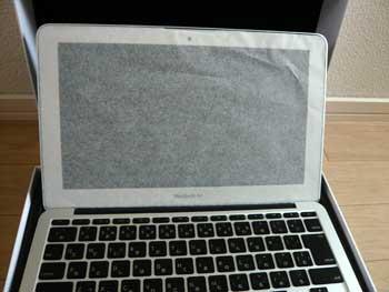 MacBookAir開封の儀