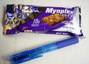 Myoplex外袋