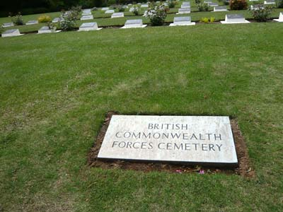 コモンウェルス軍の墓