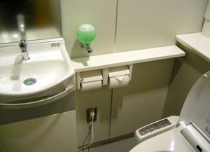ヘンなデザインのトイレ